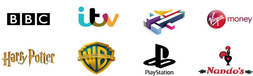 Brands that i have worked with include Sony, Warner Brothers & BBC