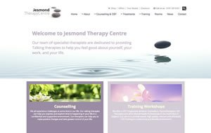 Jesmond Therapy Centre website thumbnail